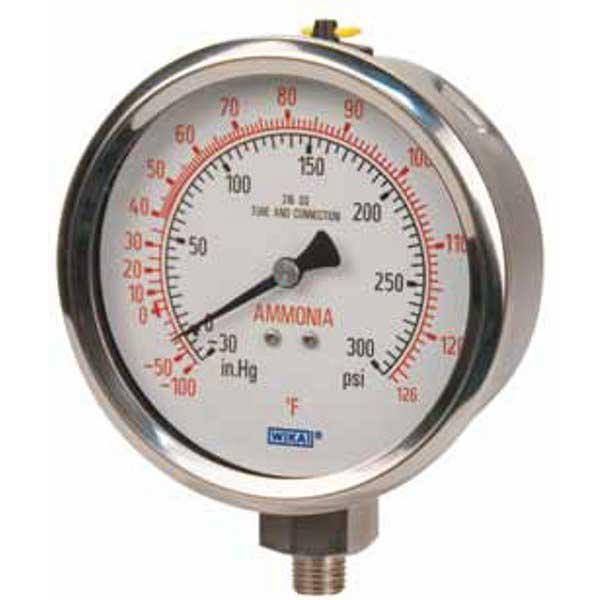 WIKA 23X-53AM SS Refrigeration Ammonia Guage 9768718