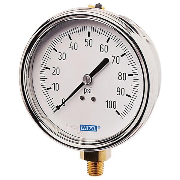 WIKA 4250401 Mechanical Pressure Gauge