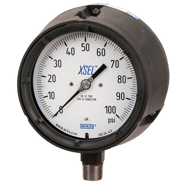 WIKA 4332751 Mechanical Pressure Gauge