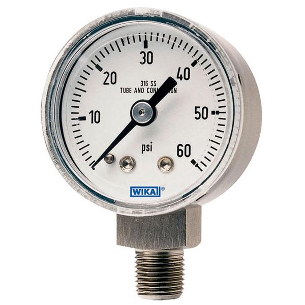 WIKA 50009711 Mechanical Pressure Gauge