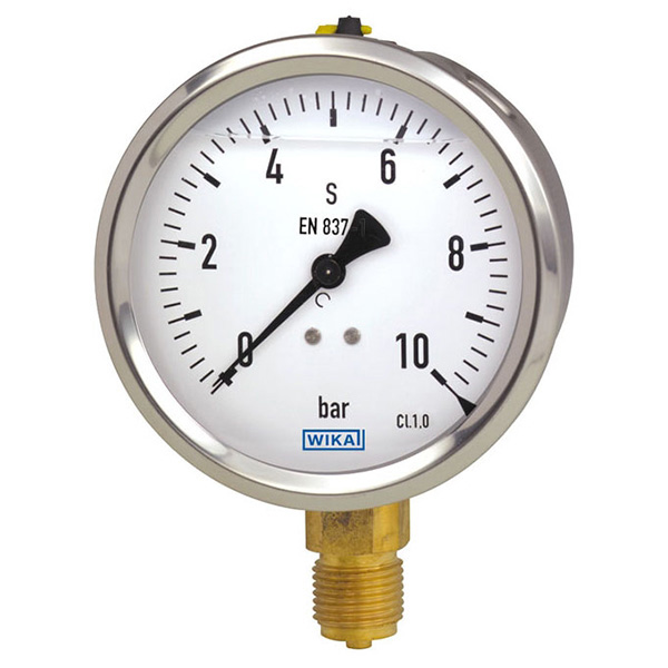 WIKA 50650670 Mechanical Pressure Gauge