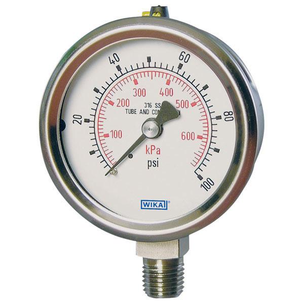 WIKA 50935925 Mechanical Pressure Gauge