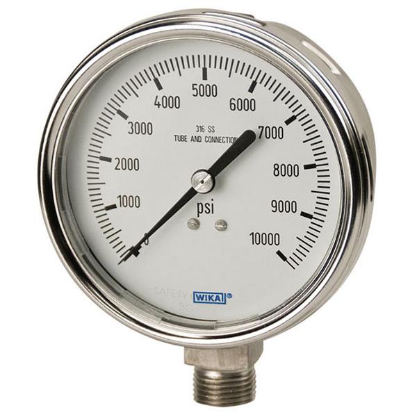 WIKA 52445267 Mechanical Pressure Gauge