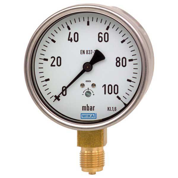 WIKA 612-20 Low Pressure Capsule Guage 9747791