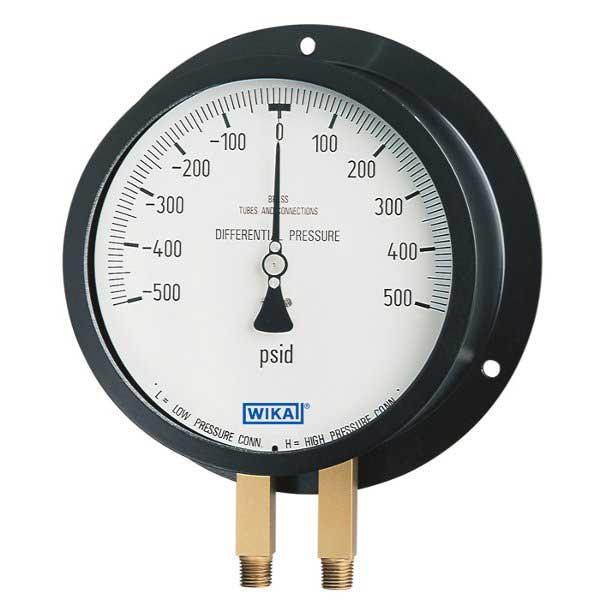 WIKA 712-25DX Duplex Pressure Guage 4241681