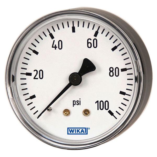WIKA 9795515 Mechanical Pressure Gauge