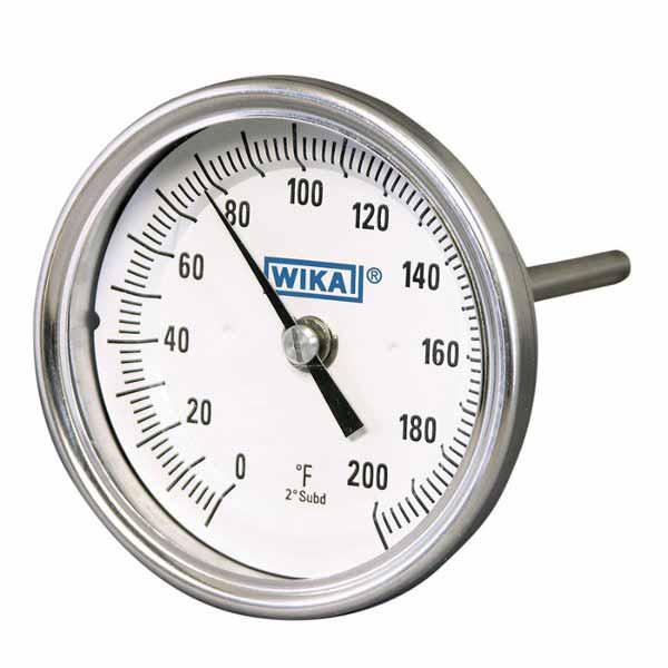 30040D205G4 WIKA   TI 30 Bimetal Thermometer   Valin
