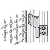 BOSCH adjustable hinge with Tblocks  3842535694