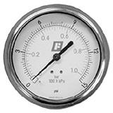 fairchild round pressure gauge