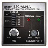 OMRON E2C-AM4A Proximity Sensor Separate Amplifier with Adjustment Potentiometer