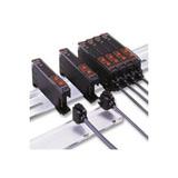 omron e3x series fiber optic sensor amplifier connector