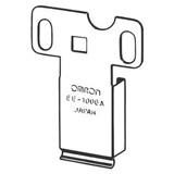 omron ee series photo micro sensor connector hold down clip
