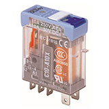 C10-A10BX/024UC TURCK Releco 1-Pole Changeover 24 VAC/VDC Interface Relay