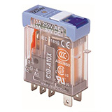 C10-A10BX/048UC TURCK Releco 1-Pole Changeover 48 VAC/VDC Interface Relay