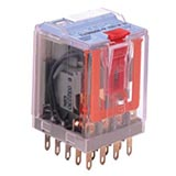C4-R30/048VDC TURCK Releco 3-Pole Square Base Plug-In Interface Relay