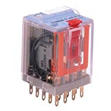 C4-R30/125VDC TURCK Releco 3-Pole 14-Pin Square Plug-In Interface Relay