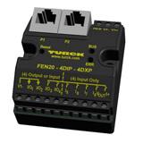 FEN20-4DIP-4DXP TURCK ethernet input output station 4 in 4 out