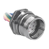 CKCF 12-11-1 TURCK M23 12-pin front mount female receptacle