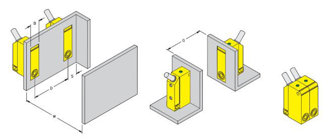 Rectangular Sensor Mounting