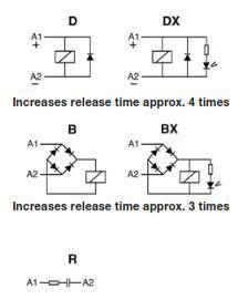 Industrial Relays MRC, QRC, IRC