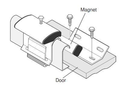 How To Install Magnetic Contact Series 2325-2327 for Door Panel